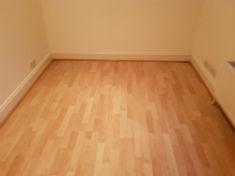 perfectly clean floor